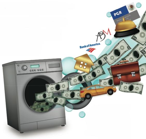 Con la nueva ley contra el lavado de dinero, México dió un paso adelante. Sin embargo, todavía el crimen se cuela por los resquicios legales, lo cuál representa un gran reto para el país y las autoridades.