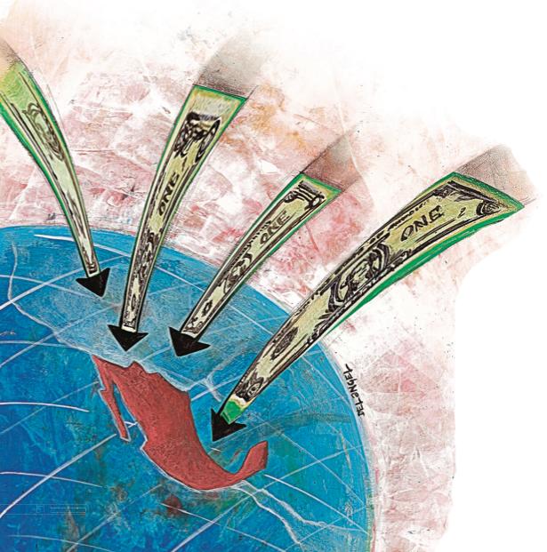 En los últimos años, los inversionistas extranjeros han inundado de dólares el mercado de deuda mexicano. Esos flujos responden a una coyuntura monetaria mundial y podrían reducirse cuando esta expire. ¿Cómo podría compensarse esta eventual salida?