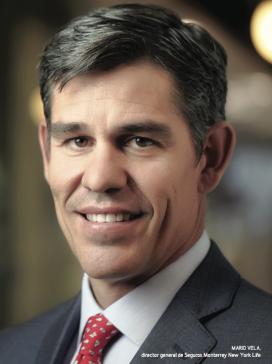 Mario Vela, director general de Seguros Monterrey New York Life.