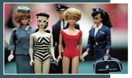 El lugar ideal para encontrar estas figuras son en las ventas de garage o las casas de subastas.
